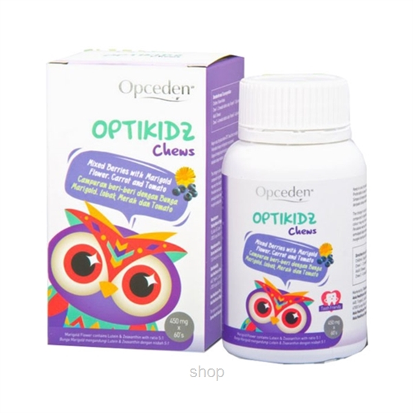 Opceden OptiKidz Chews 60's x 450mg-0