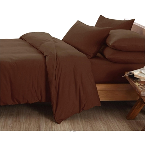 Essina 620TC Candies Collection Quilt Cover Set Brown-0