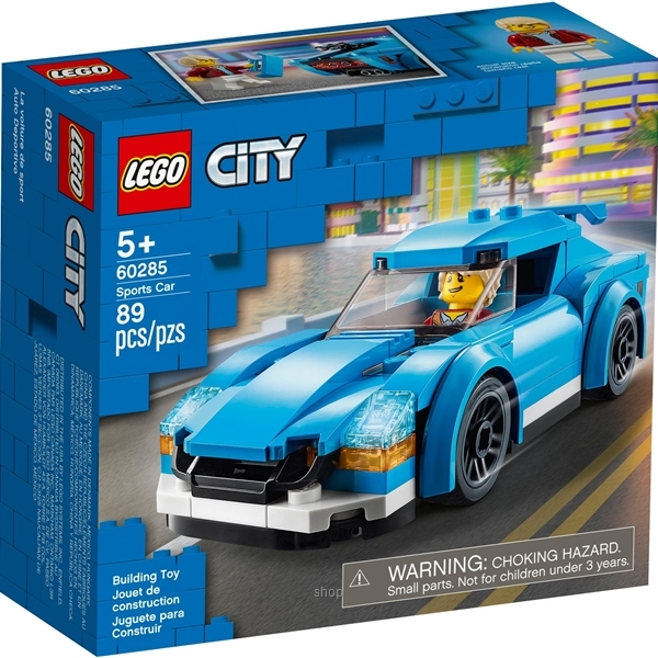 LEGO City Great Vehicles Sports Car - 60285-0