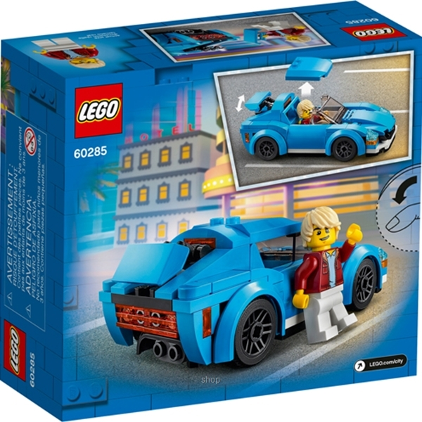 LEGO City Great Vehicles Sports Car - 60285-6