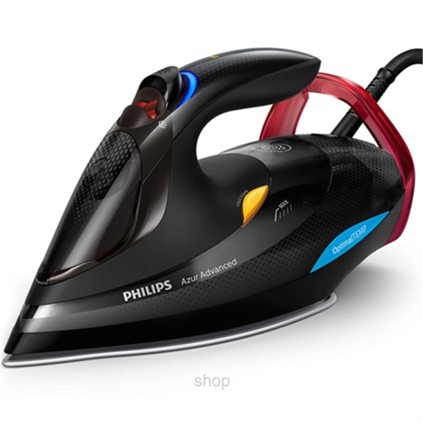 Philips Azur Advanced Steam Iron with OptimalTEMP Technology - GC4933-0
