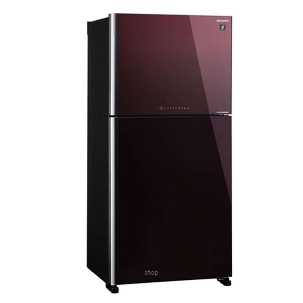 Sharp 610L Pelican Refrigerator - SJP68MFGM