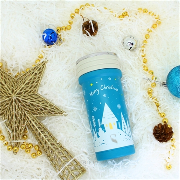 [Christmas Collection] Once upon a Starry Night: SWANZ 350ml Porcelain Tumbler SY-068-0