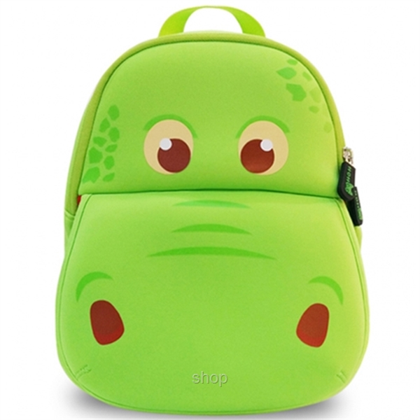 [BUY 1 FREE 1] NOHOO Hippo Kids Backpacks (For 3-5 Years Old) - NH028-0