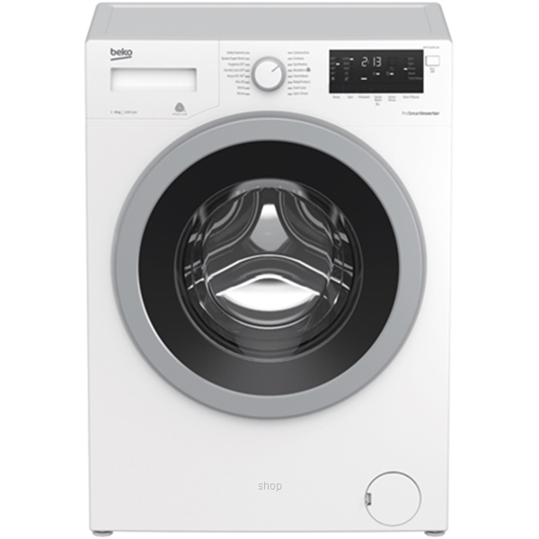 Beko 8.0kg Front load Washing Machine White - WMY-81283-LB2-BEKO-0