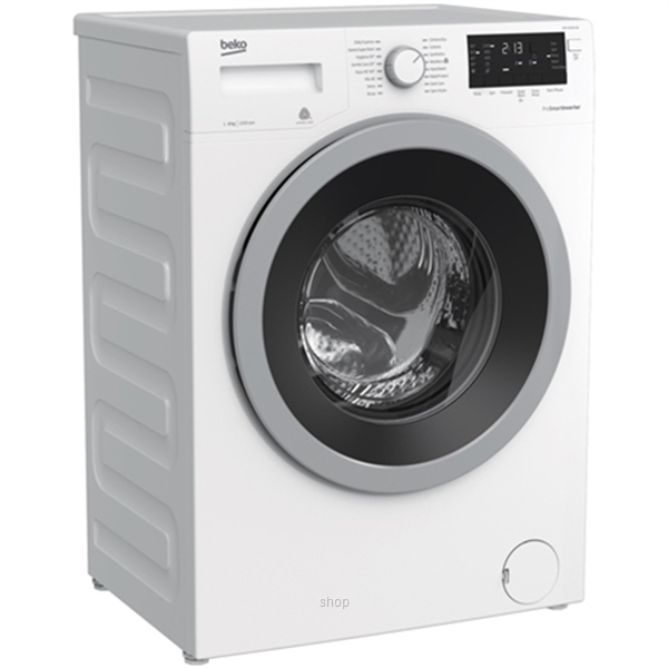 Beko 8.0kg Front load Washing Machine White - WMY-81283-LB2-BEKO-1