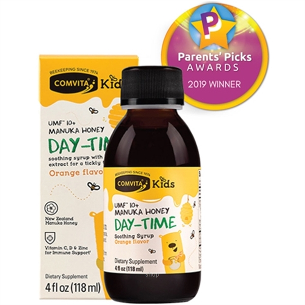 Comvita Kids Soothing Syrup 118ml (DAY)-0