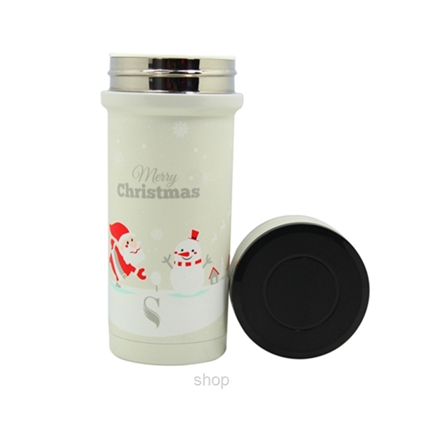[Christmas Collection] Dashing Through The Snow: SWANZ 350ml Porcelain Tumbler SY-068-1