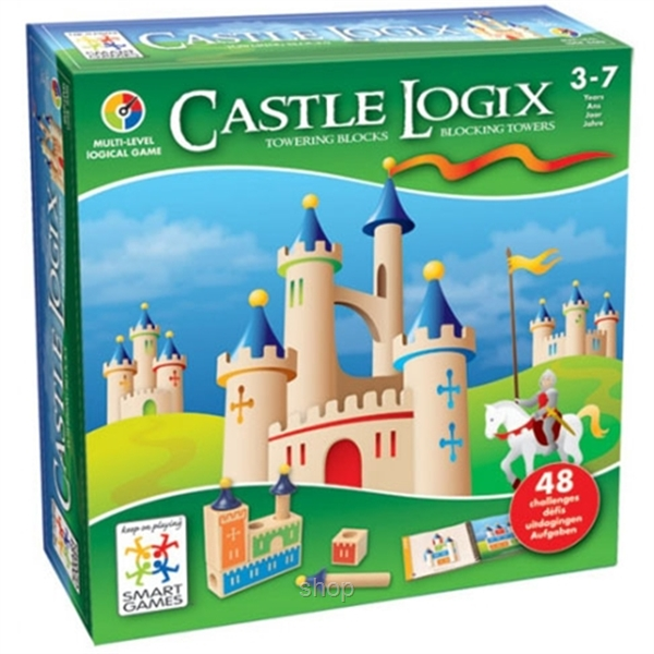 Smart Games Castle Logic (3-7 years) - 5414301513216-0