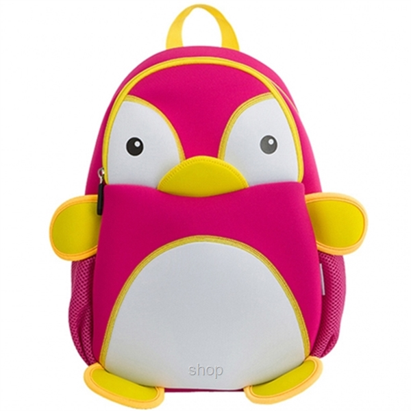[BUY 1 FREE 1] NOHOO Penguin Kids Backpacks (For 4-6 Years Old) - NH011-1