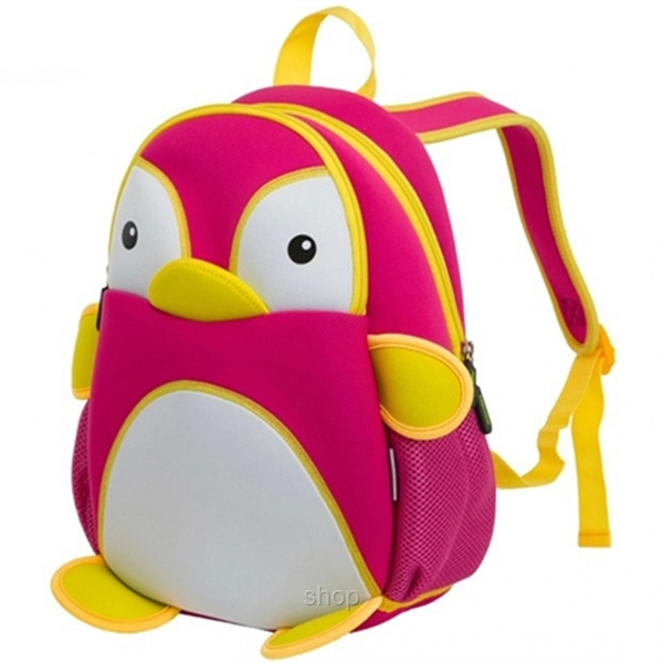 [BUY 1 FREE 1] NOHOO Penguin Kids Backpacks (For 4-6 Years Old) - NH011-2