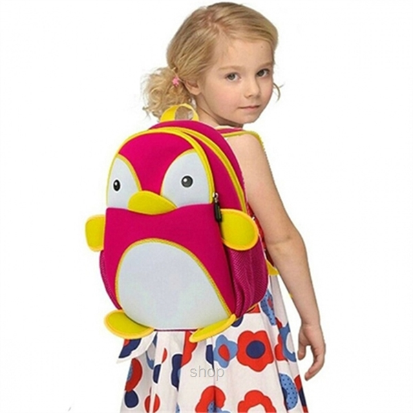 [BUY 1 FREE 1] NOHOO Penguin Kids Backpacks (For 4-6 Years Old) - NH011-3