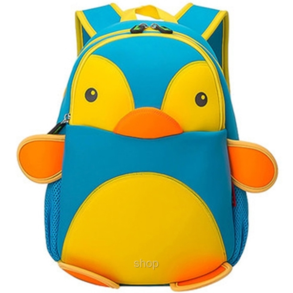 [BUY 1 FREE 1] NOHOO Penguin Kids Backpacks (For 4-6 Years Old) - NH011-5