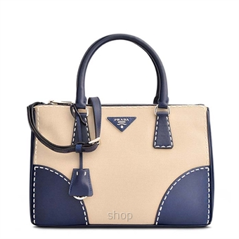 ce0d972a43f7 Prada Blue Tessuto Saffiano Tote Bag in Corda Royal - Superbuy Malaysia  Online Shopping Mall