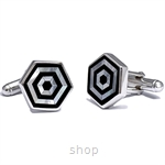 Kelvin Gems Circe For Him Cufflinks 925 Sterling Silver