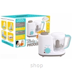 Autumnz 2-in-1 Baby Food Processor (Steam & Blend) Turquoise - XJ-12406