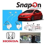 Groovy Honda COUPE SNAP-ON 4.0 (MAGNET) Car Sunshades