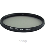 JJC F-CPL Ultra-Thin Circular Polarizer Filter (φ58mm) - F-CPL58