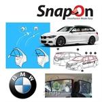 Groovy BMW WAGON SNAP-ON 4.0 (MAGNET) Car Sunshades