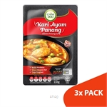 ChimDoo Chicken Panang Curry 3's x 110g