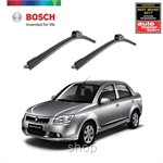 Bosch Clear Advantage Wiper Blade Set (22+17 inch) Proton Saga BLM 2008