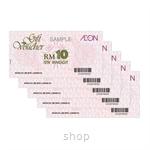 AEON Gift Voucher RM50 (RM10 x 5 pcs)