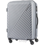 American Tourister Visby Hardcase Spinner 3Pcs Set (20, 24, 28 inch) Dark Grey - AX9018004