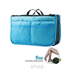 Shills Korean Blue Macaroon Compartment Bag