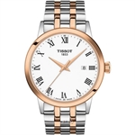 Tissot T129.410.22.013.00 Men's Quartz T-Classic Classic Dream Two-Tone Stainless Steel Bracelet Watch