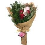 Pods & Petals Rosie Bunch Rose Posy Bouquet - PP-HB-102
