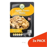 ChimDoo Stir Fried Chicken with Ginger 3's x 110g