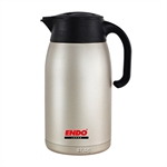 Endo 1.5L Double Stainless Steel Handy Jug + Tea Strainer - CX-2015