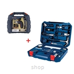 Bosch 108 in 1 Multi-Function Household Toolkit (BLUE) + FREE Toy Set - 2607017446
