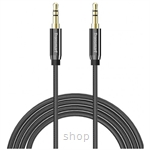 Tronsmart Nylon Double Braided 3.5mm Stereo Audio Cable 1.2M (Gold Connector) - SC301