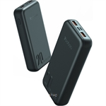 Yoobao 20000mAh Super Fast Charge Portable Slim Power Bank Black - Q20