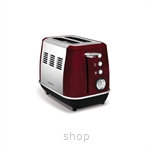 Morphy Richards Evoke Core 2 Slice Red Toaster - 224408