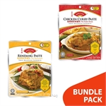 [BUNDLE] Dollee Chicken Curry Paste 2x200gm + Dollee Rendang Paste 2x200gm