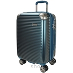Hush Puppies 694013 ABS Hard Trolley Case Luggage - Blue