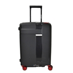Hush Puppies HP-694018 20-Inch PP Hardcase Luggage With 3-Point Lock System