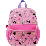 PSD Disney Minnie Mouse Pink Kids Backpack (12-inch) - 31-2-222-6051