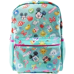 PSD Disney Mickey Mouse Emoji Sequin Teen Backpack - 31-2-223-4992