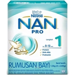 Nestle Nan Pro 1 (2 x 650g) (Single Pack)