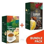 [BUNDLE] Durian Hill White Coffee + Original Ginger