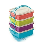 Tupperware Small Goody Box with Cariolier (4pcs) 750ml - 11126316