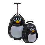 The Cuties & Pals Trolley Case & Backpack [Penguin]