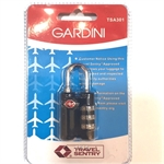 Gardini TSA301 TSA Combination Lock