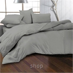 Essina 620TC Candies Collection Fitted Sheet Set Grey Mercury