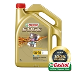 Castrol EDGE 5W-30 C3 Engine Oil for Petrol and Diesel Cars (4L)