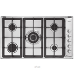 Firenzzi Stainless Steel Glass Hob - FH-9543-S/S