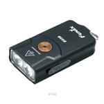 Fenix High-performance Keychain Rechargeable Flashlight Black - E03R